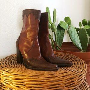 Antonio Melani | Leather Boho Boots
